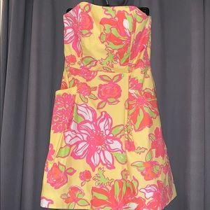 Beautiful strapless Lily Dress